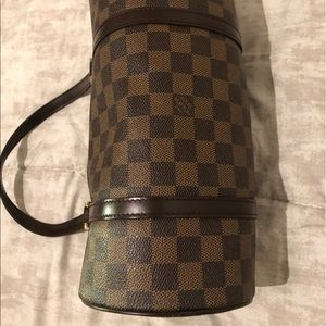 Louis Vuitton Papillon 30 Damier Satchel Bag